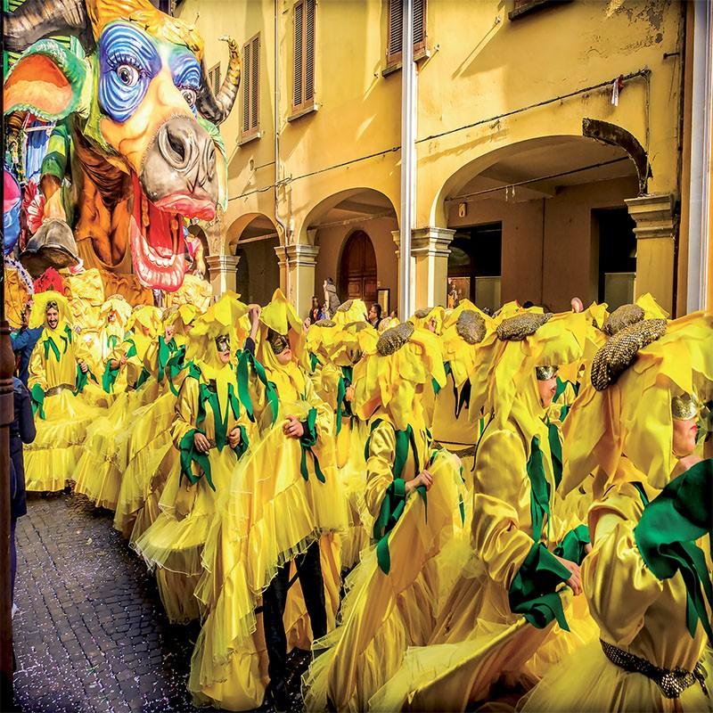 Carnaval de Viareggio et Lucca