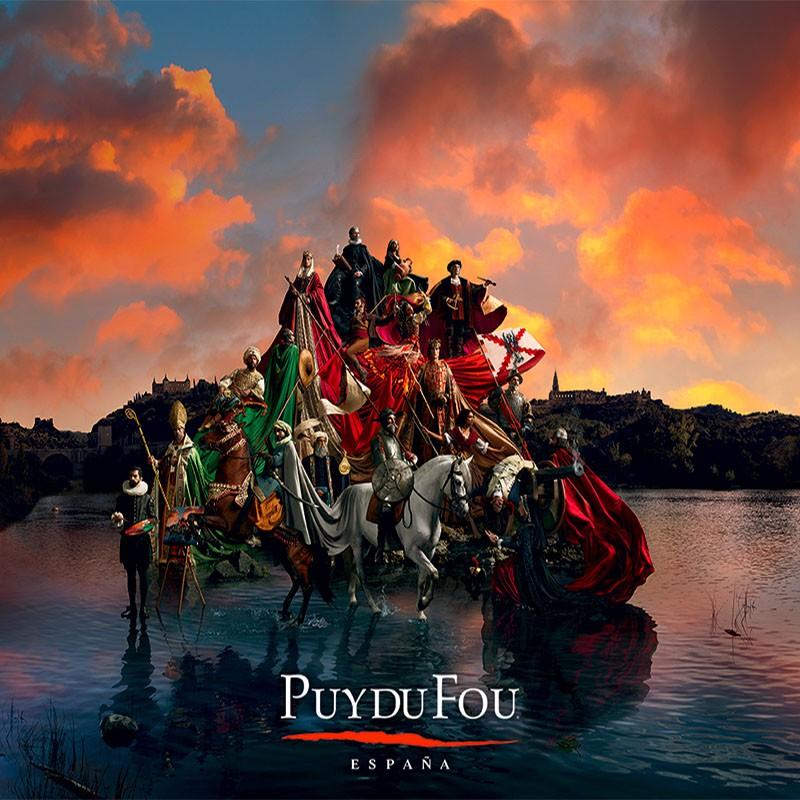 Spectacle du Puy du Fou au...